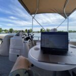 Working from the boat